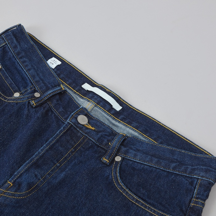 Norse Projects Slim Denim - Rinsed (Image 1)