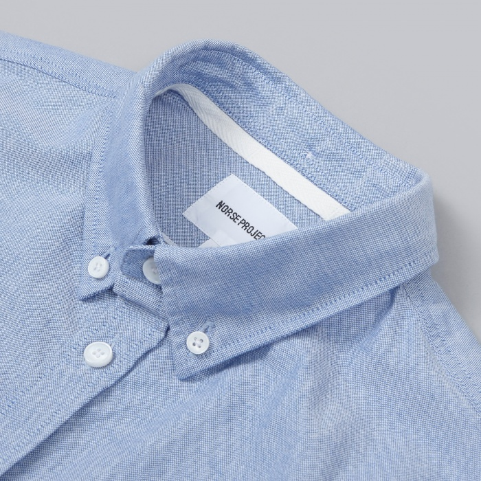 Norse Projects Anton Oxford Shirt - Navy (Image 1)