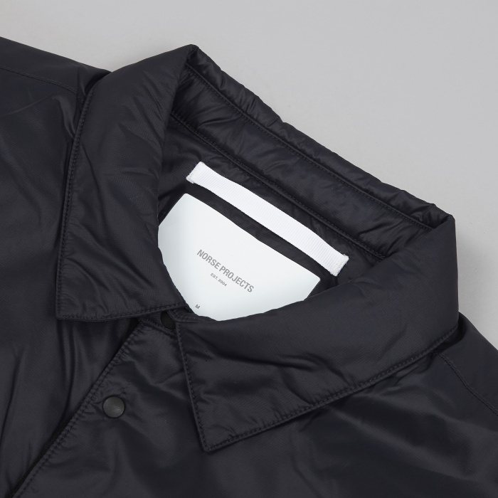 Norse Projects Jens Light Shirt - Black (Image 1)