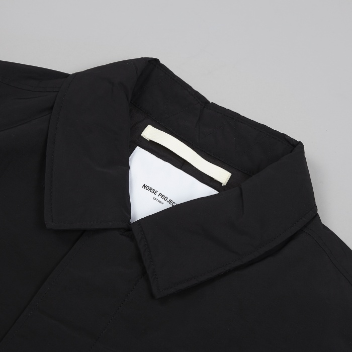 Norse Projects Thor Light Winter Jacket - Black (Image 1)