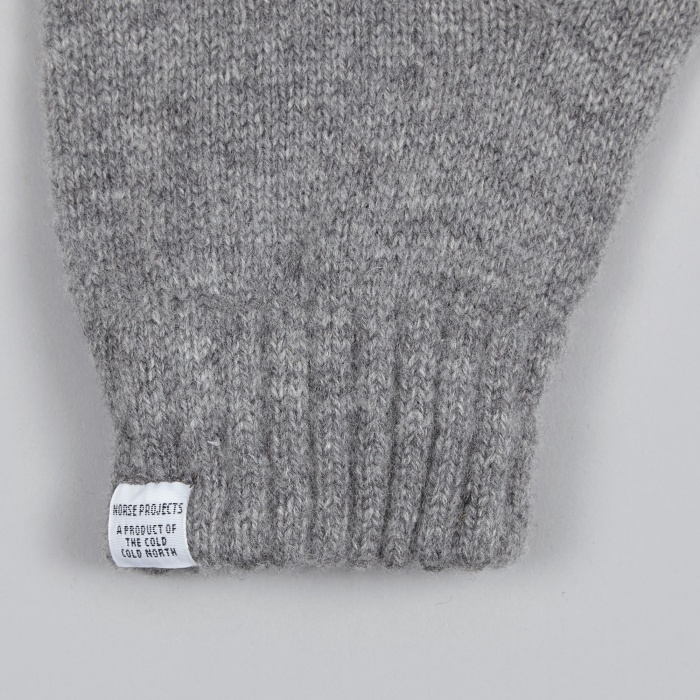 Norse Projects Norse Gloves - Mouse Grey (Image 1)