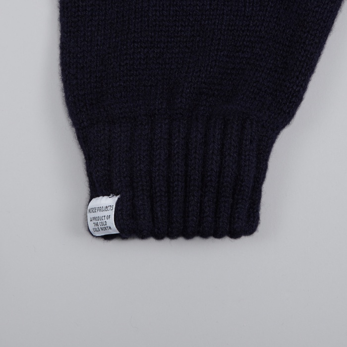 Norse Projects Norse Gloves - Navy (Image 1)