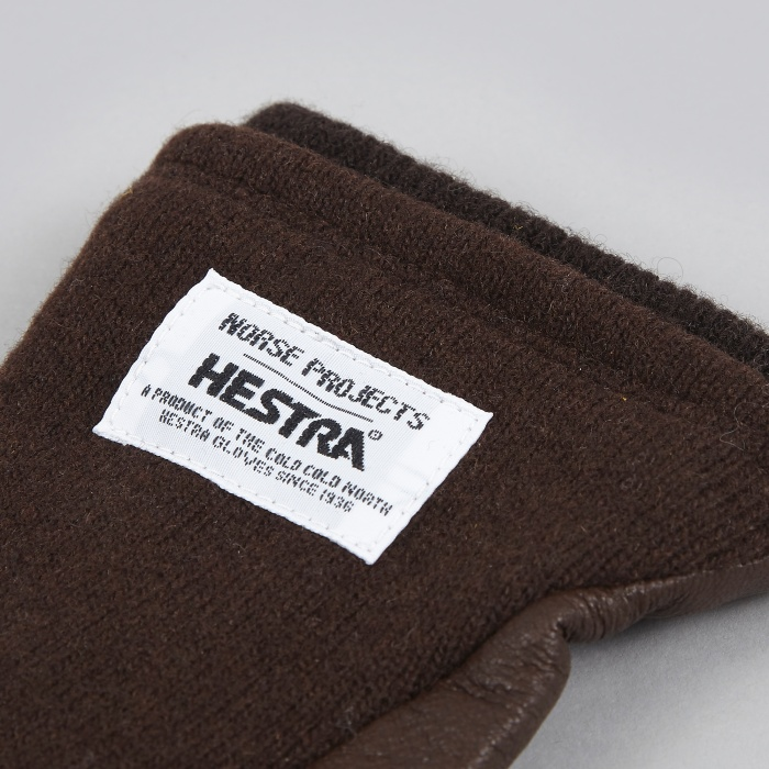 Norse Projects x Hestra Svante Glove - Earth (Image 1)