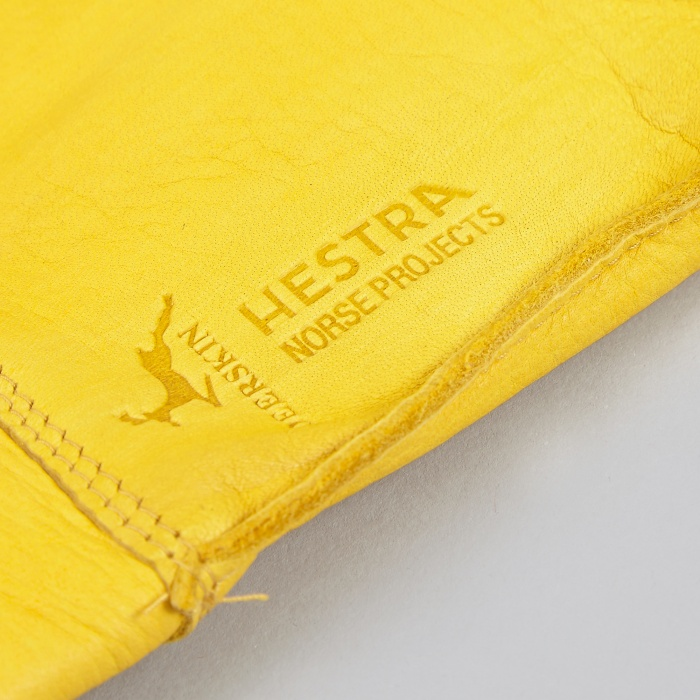 Norse Projects x Hestra Ivar Glove - Misted Yellow (Image 1)