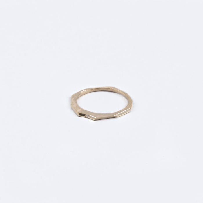 Oljei Diamond Ring - 10K Gold (Image 1)