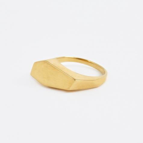 Lump Ring - Gold Plated