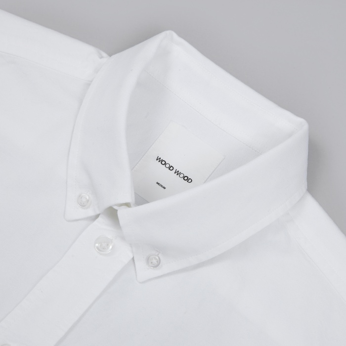 Wood Wood Dorset Shirt - White (Image 1)