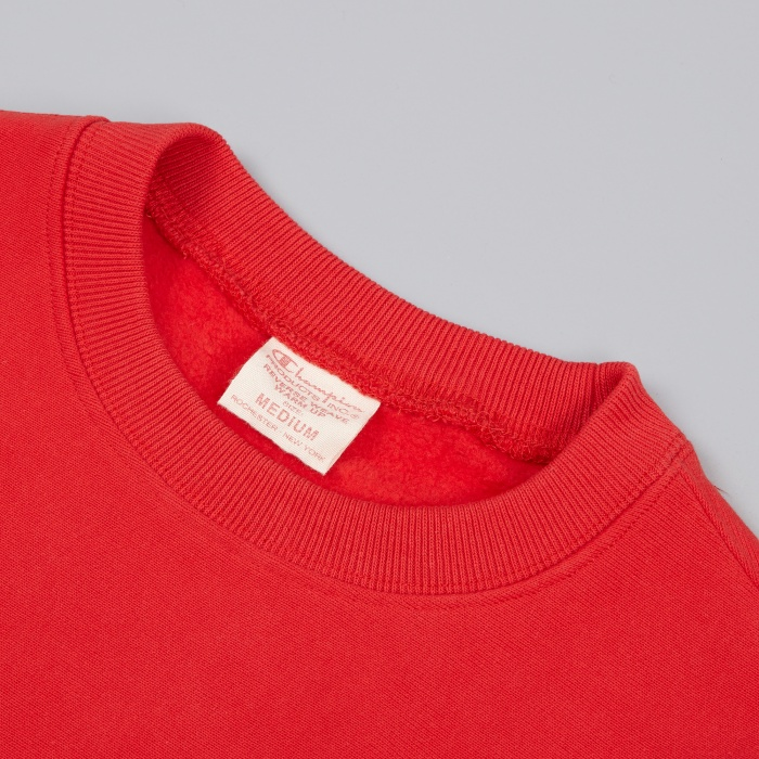 Champion Reverse Weave Crewneck Sweatshirt - Red (Image 1)