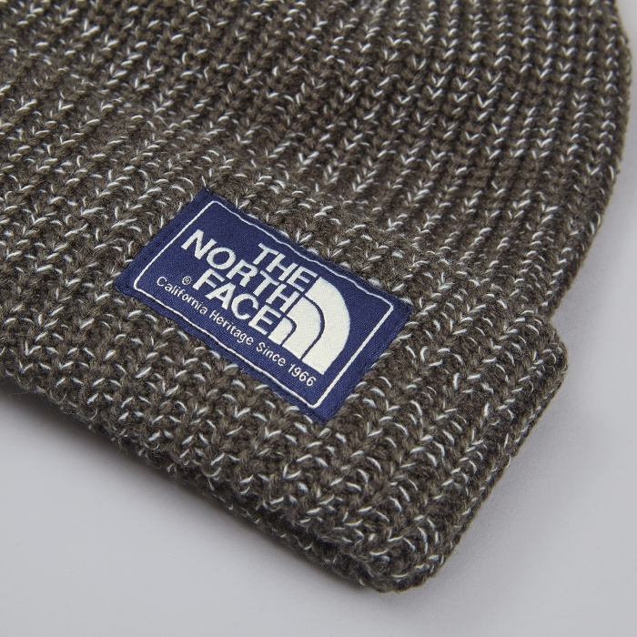 The North Face Black Label The North Face Salty Dog Beanie - Charcoal (Image 1)