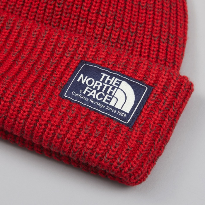 The North Face Black Label The North Face Salty Dog Beanie - Red (Image 1)