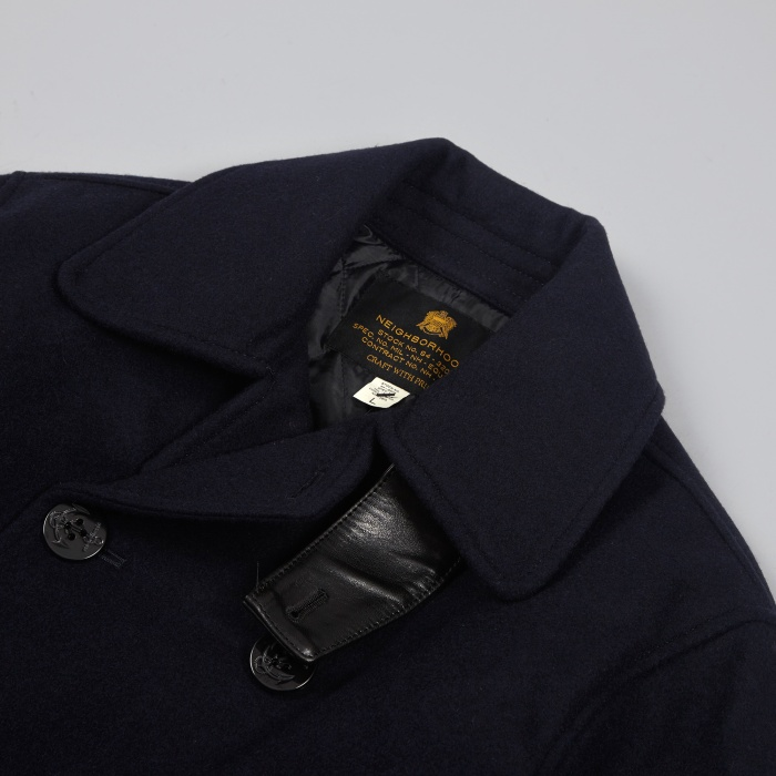 Neighborhood P/WN Coat - Navy (Image 1)