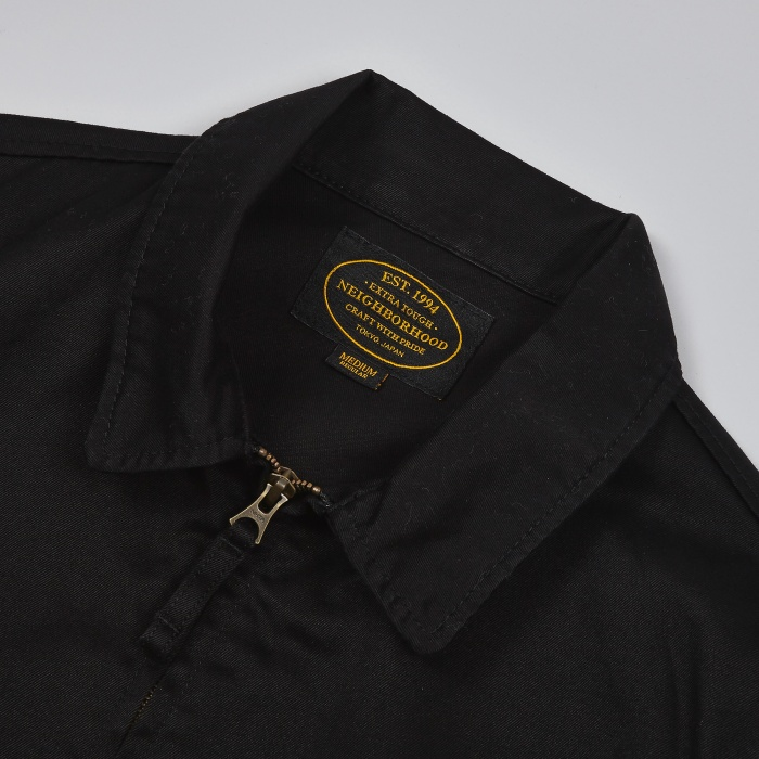 Neighborhood Kendall Work Jacket - Black (Image 1)