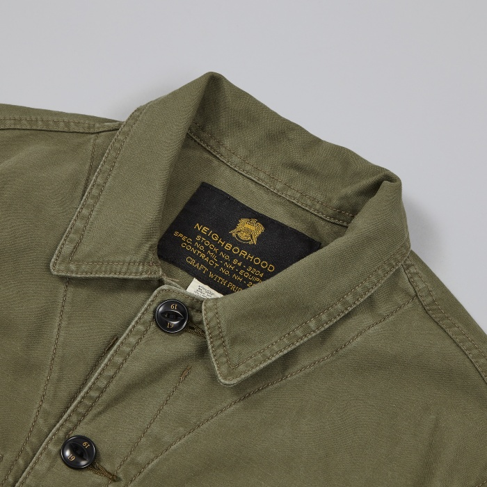Neighborhood BDU Shirt - Olive Drab (Image 1)