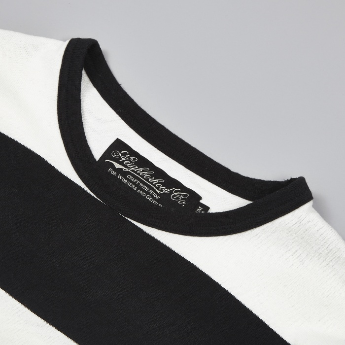 Neighborhood Bar Crew Longsleeve - Black (Image 1)