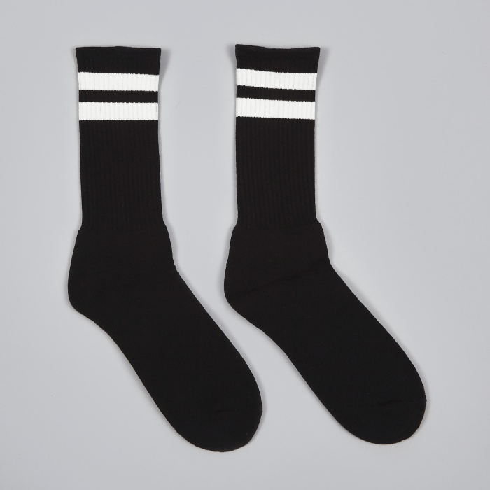 Neighborhood Classic 3 Pack Socks - Black (Image 1)