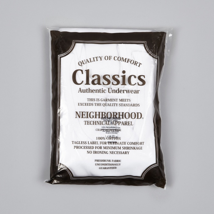 Neighborhood Classic 3 Pack Tank Vests - White (Image 1)