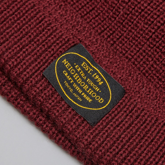 Neighborhood Jeep Beanie - Burgundy (Image 1)