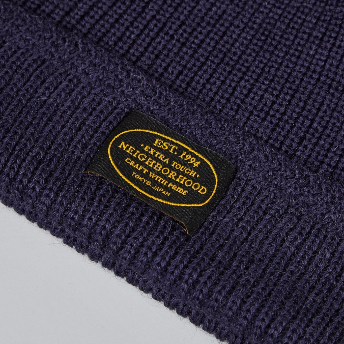 Neighborhood Jeep Beanie - Navy (Image 1)