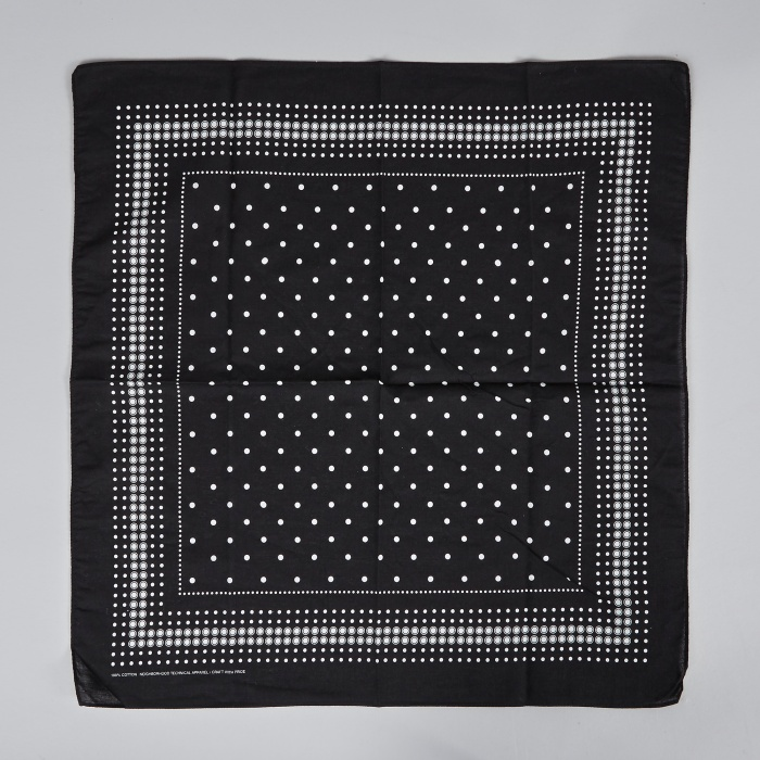 Neighborhood Third Eye Bandana - Black (Image 1)