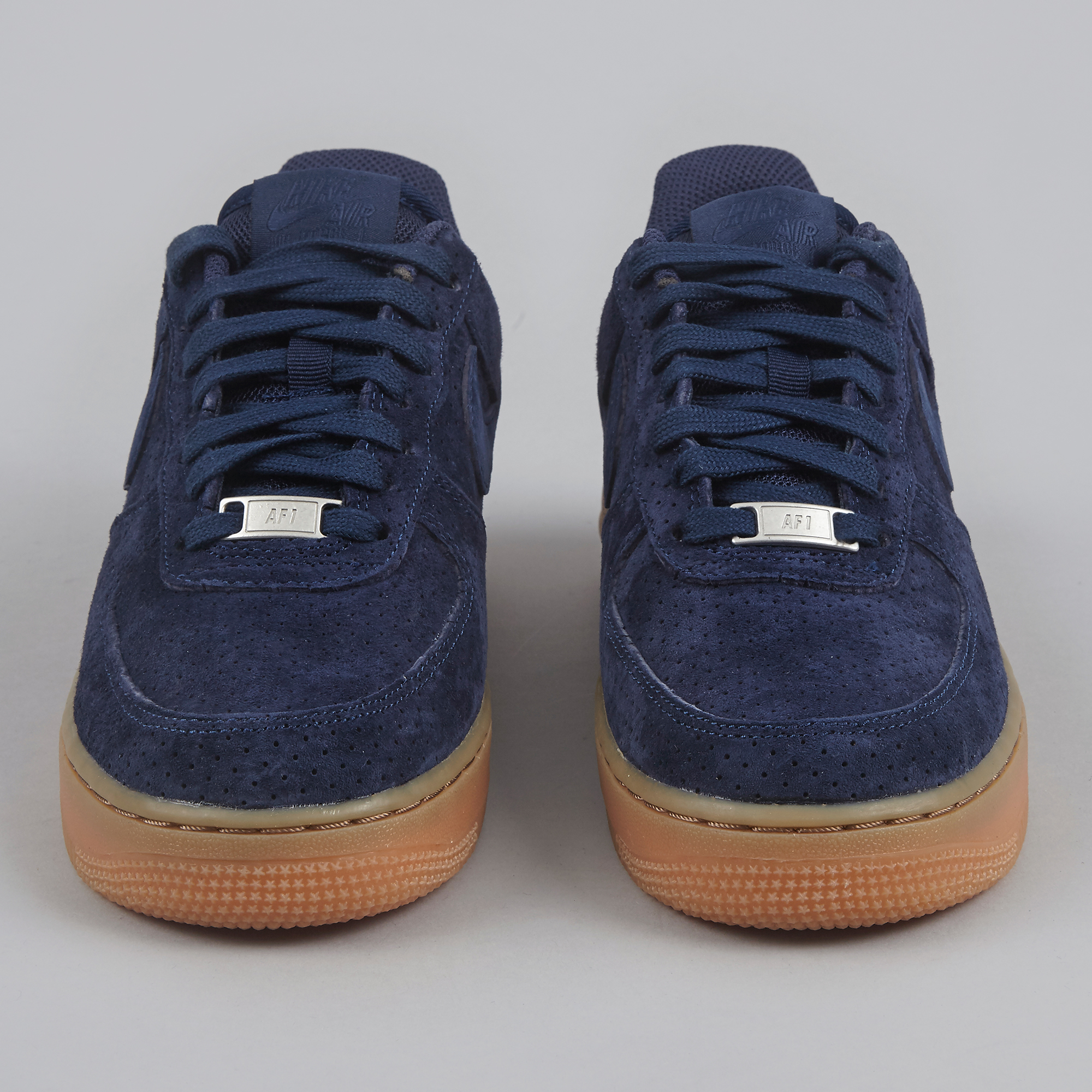 Nike Air Force 1 '07 Suede Midnight Navy