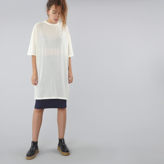 Can Pep Rey Oversized S/S T-Shirt - Snow White (Image 1)