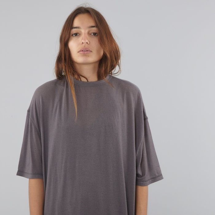 Can Pep Rey Oversized S/S T-Shirt - Plum Kitten (Image 1)