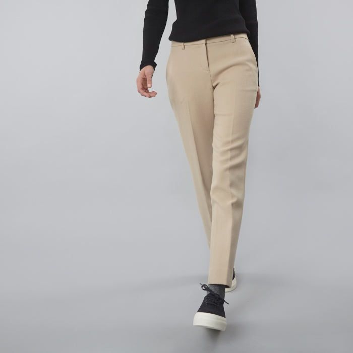 DKNY Narrow Pant W/Belt Loops - Buff (Image 1)