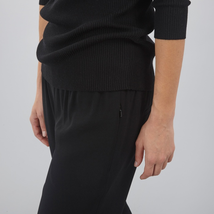 DKNY Pull On Pant - Black (Image 1)