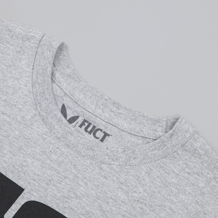 Fuct OG Logo T-Shirt - Heather (Image 1)