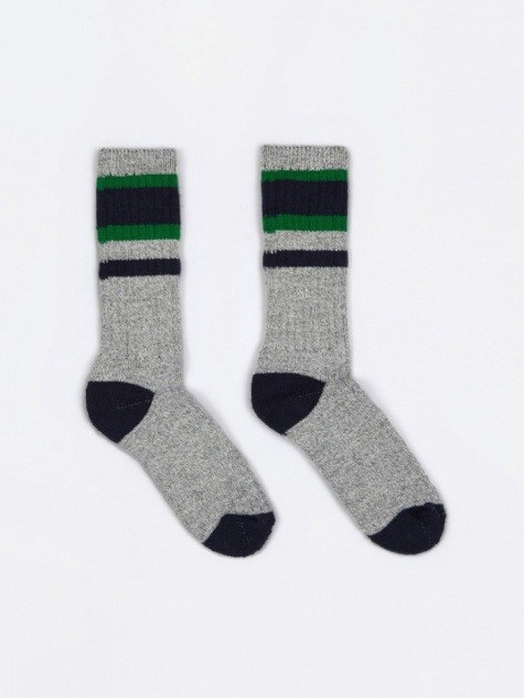 Lakewood Socks - Navy/Green