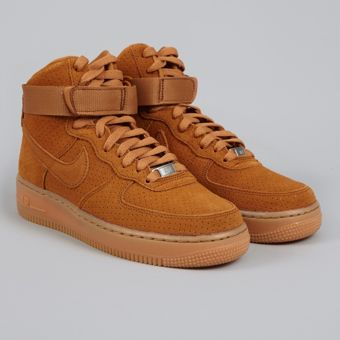 ... sale nike air force 1 07 high suede tawny tawny image 1 2d447 4727b 61afd72ed