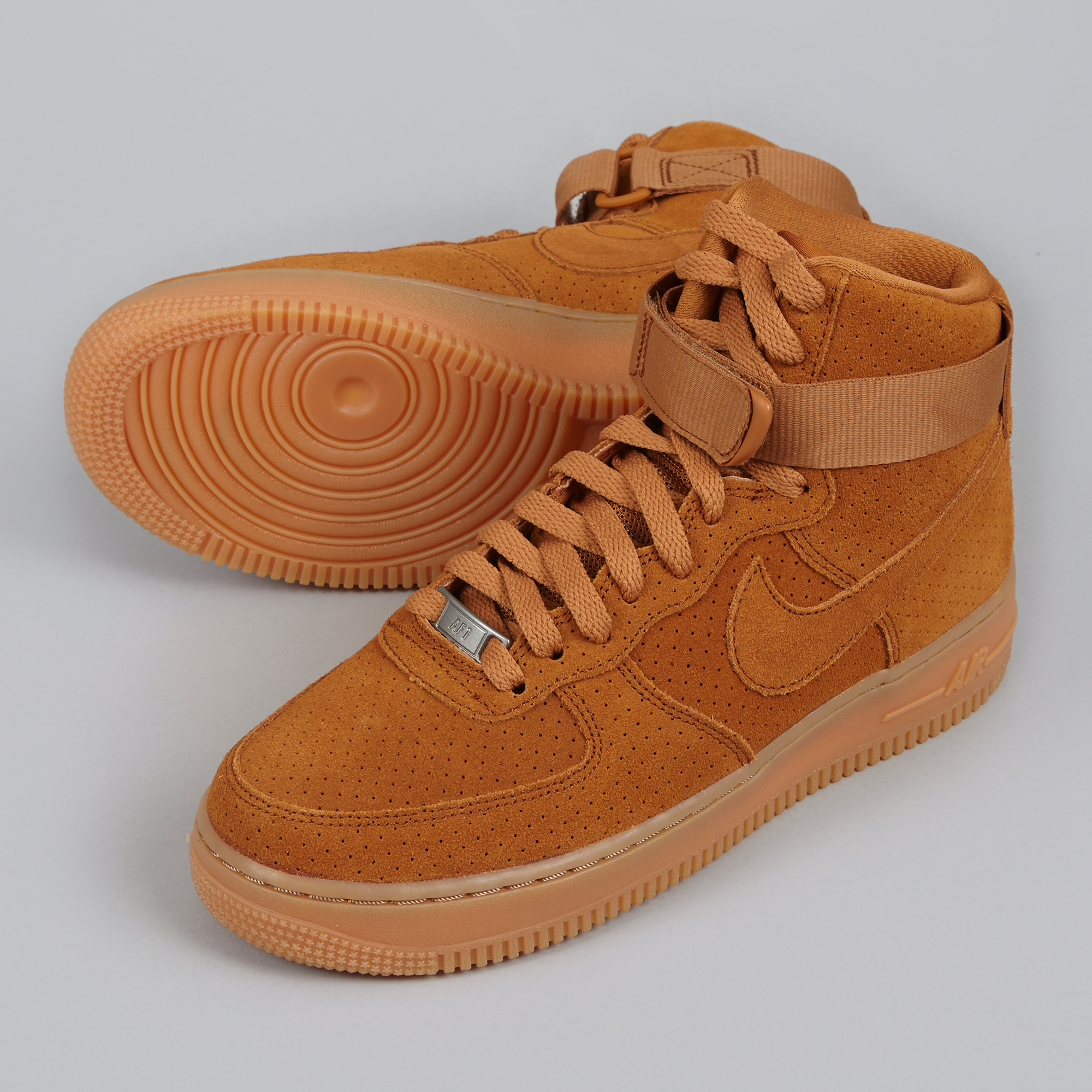 Nike Air Force 1  07 High Suede - Tawny Tawny 89a0ca415