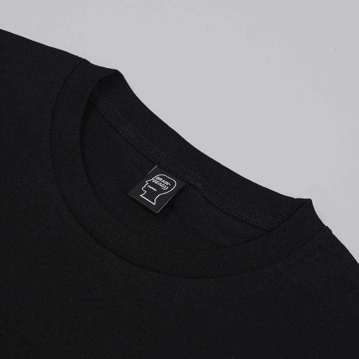 Brain Dead Logo T-Shirt - Black (Image 1)