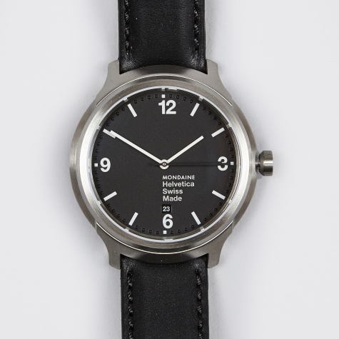 Helvetica No1 Regular 40mm Watch - Black/Black