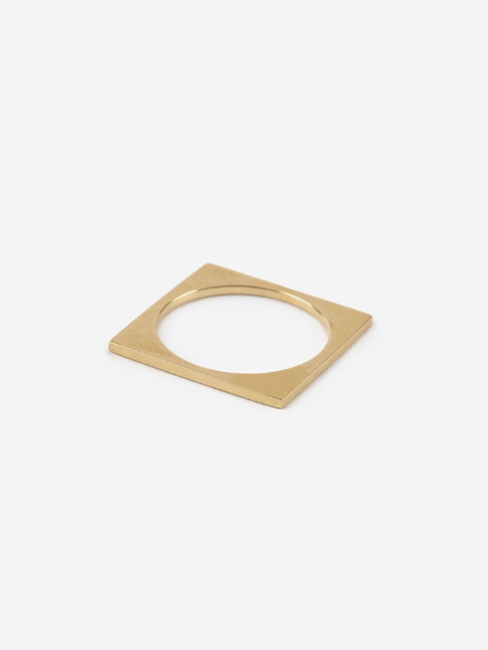 Gabriela Artigas Square Ring - 10K Gold (Image 1)