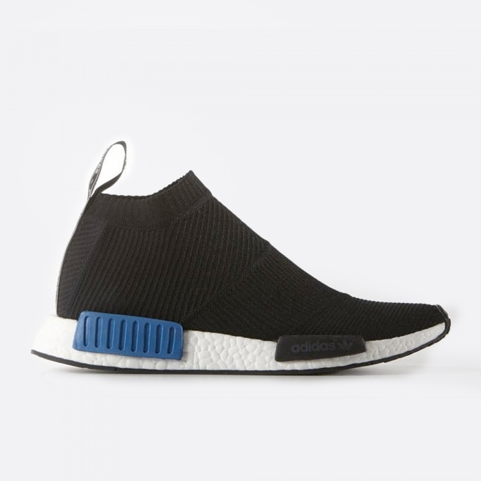Adidas Nomad NMD City Sock PK - Black/Lush Blue (Image 1)