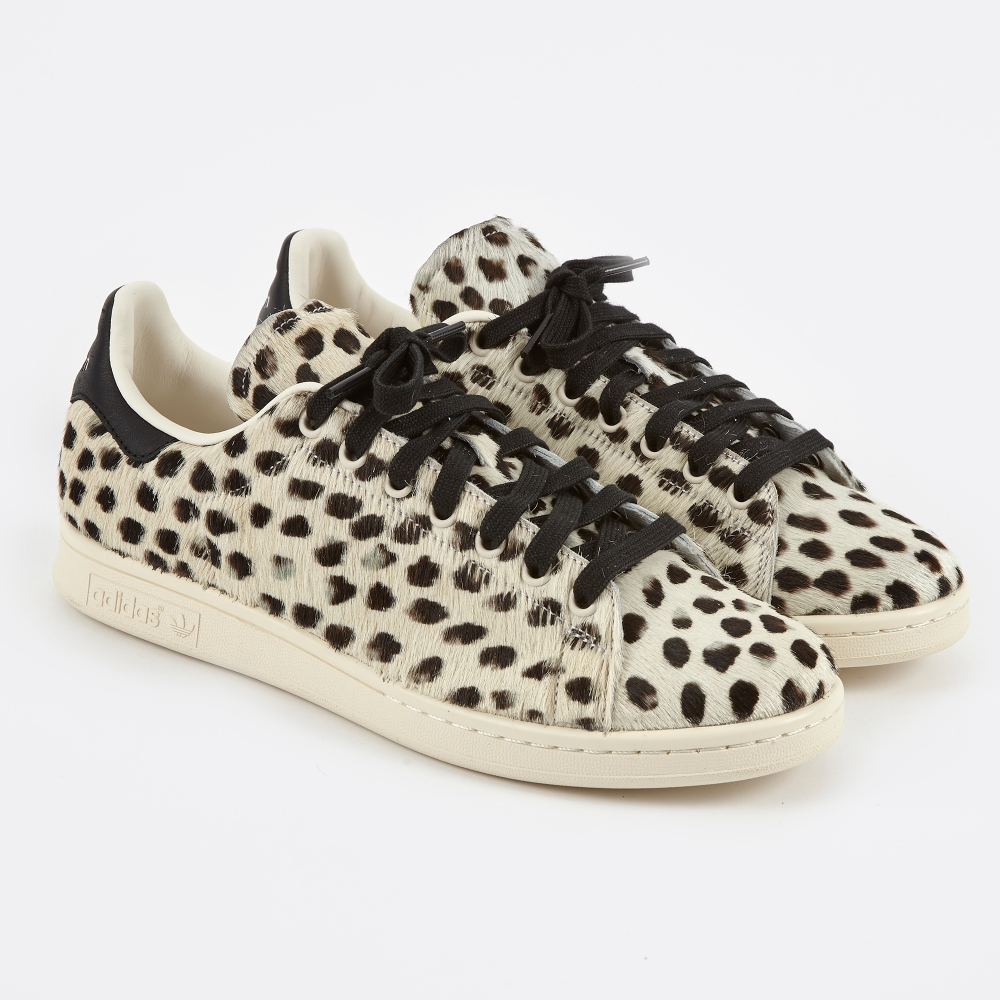 adidas stan smith rood pony hair