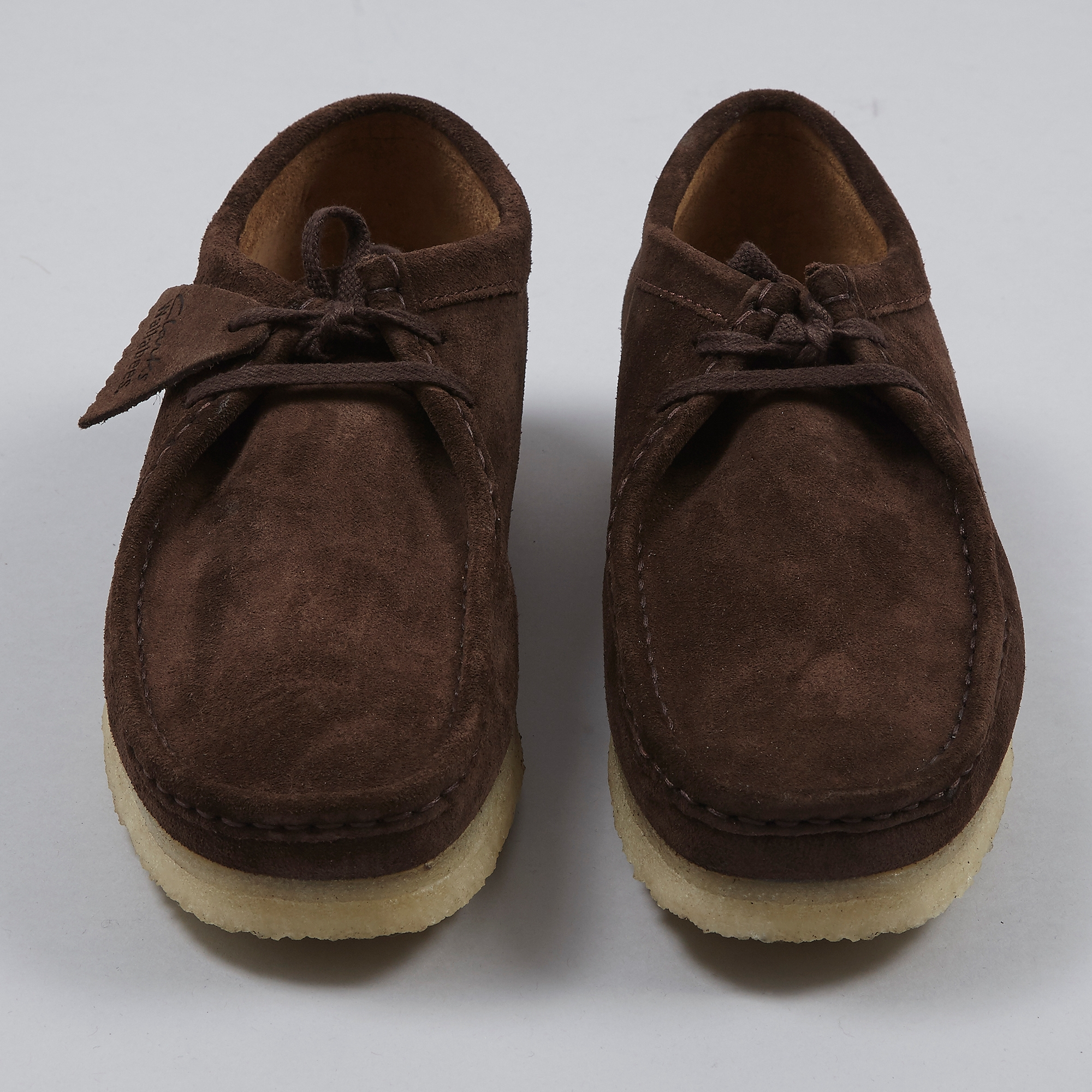 attractive fashion picked up latest fashion Clarks Wallabee - Dark Brown Suede