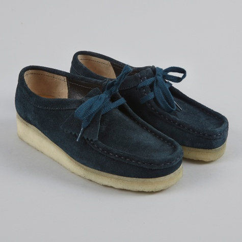 Clarks Wallabee - Midnight Suede