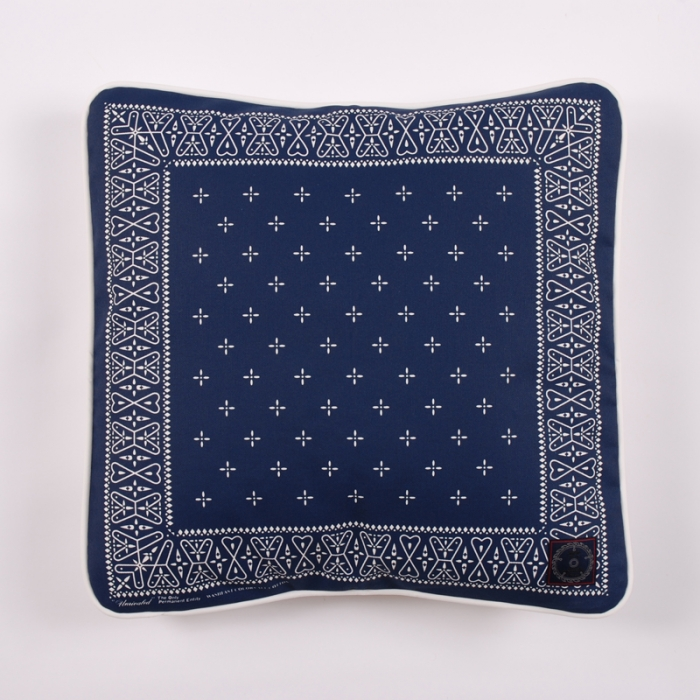 Unrivaled M&M Cushion - Navy (Image 1)