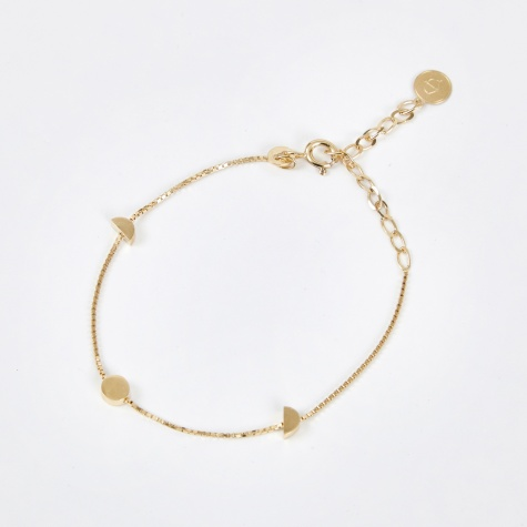 ORB Ankle Bracelet - 18K Gold Plated