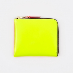 Comme des Garcons Wallet Super Fluo S (SA3100SF) - Yellow/Orange