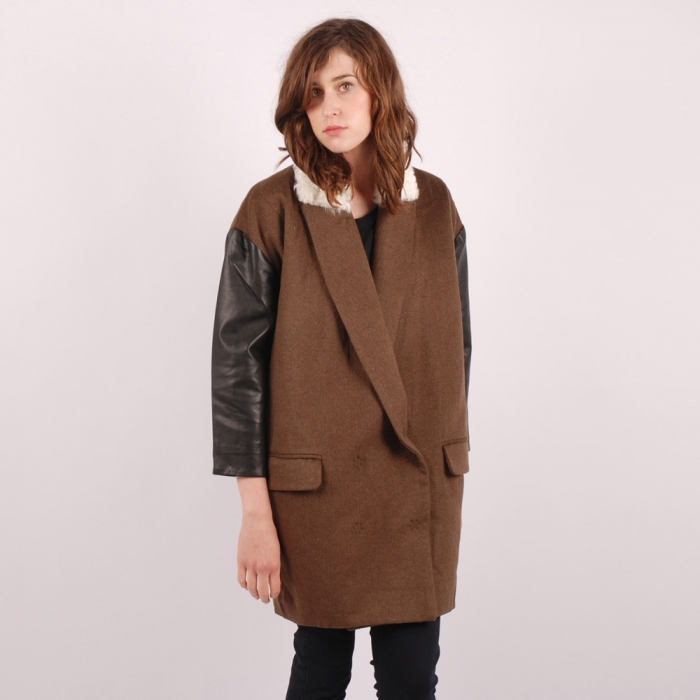 Antipodium Killing Moon Coat - Chocolate (Image 1)
