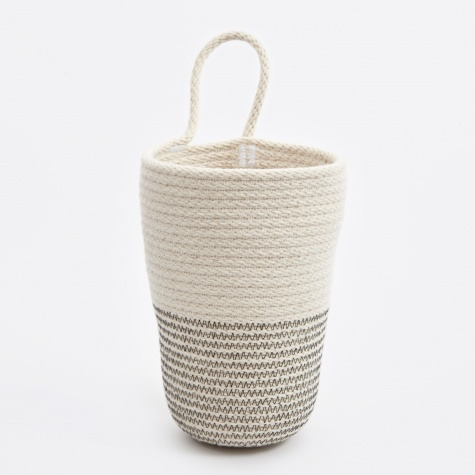 Large Pencil Bucket - Black/White