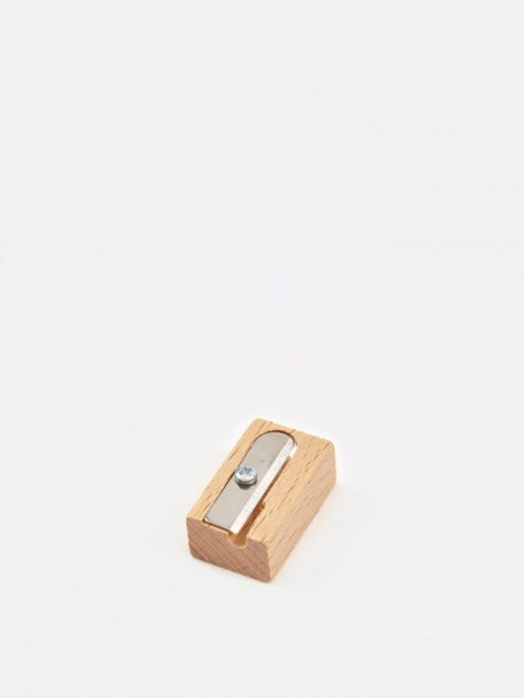 Point Beech Pencil Sharpener - Single