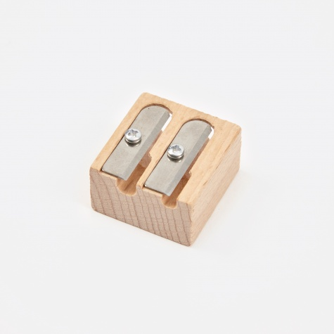 Point Beech Pencil Sharpener - Duo