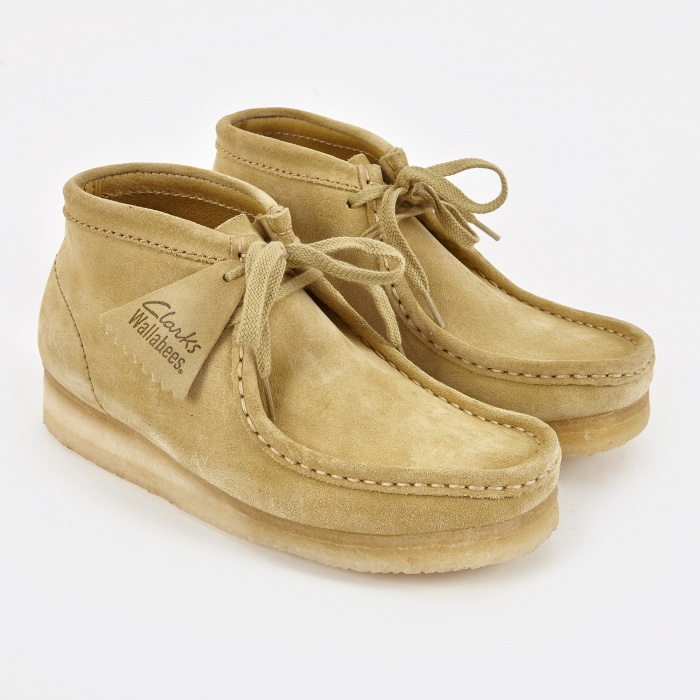 Clarks Originals Clarks Wallabee Boot - Maple (Image 1)