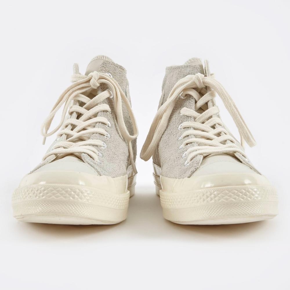 444cb29868ee Converse 1970s Chuck Taylor All Star Hi Leather Suede - Egret Eg (Image