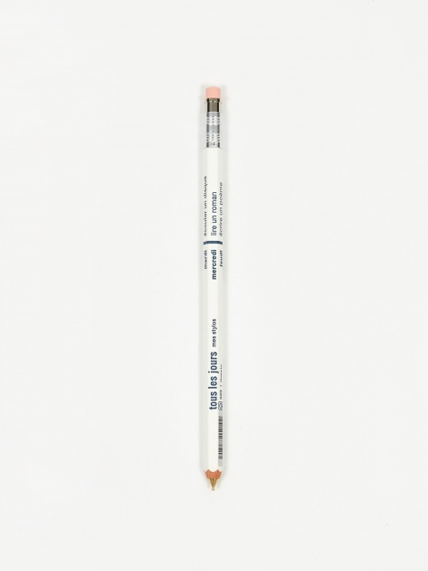 DAYS Mechanical Pencil With Eraser - White
