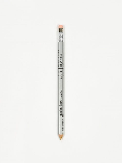 DAYS Mechanical Pencil With Eraser - Silver